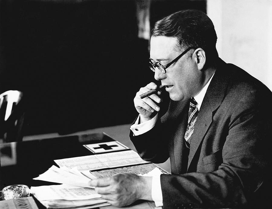 1931 Photograph - Portrait Of Elmer Irey by Underwood Archives