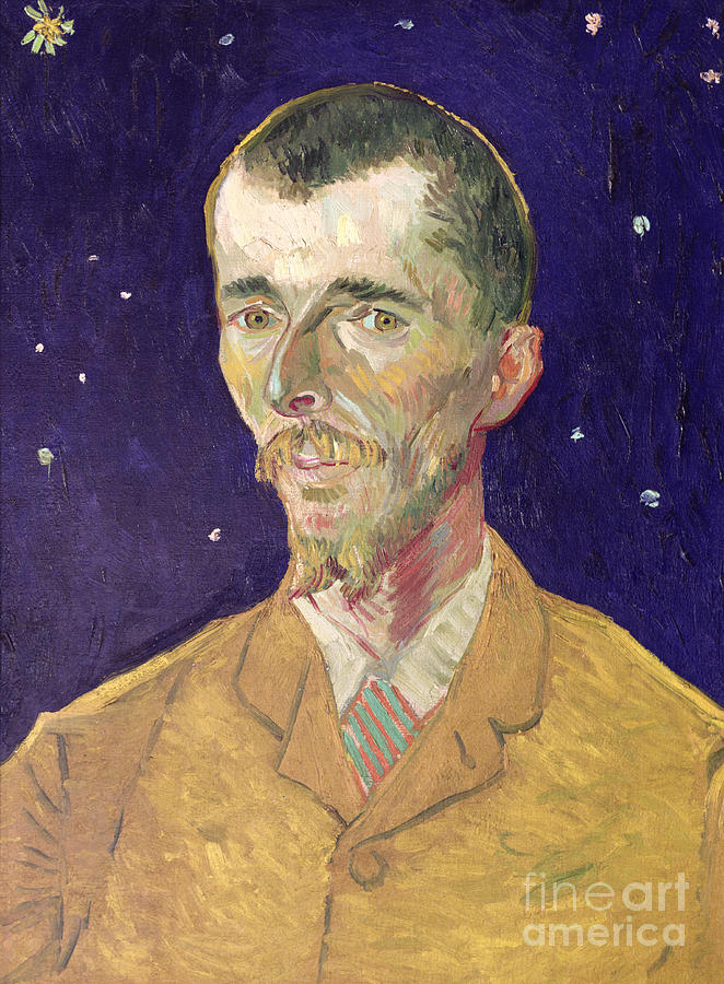 Vincent Van Gogh Painting - Portrait Of Eugene Boch by Vincent Van Gogh