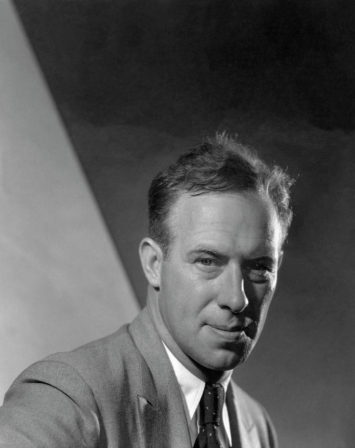 Portrait Of Frank Hawks Photograph by Edward Steichen