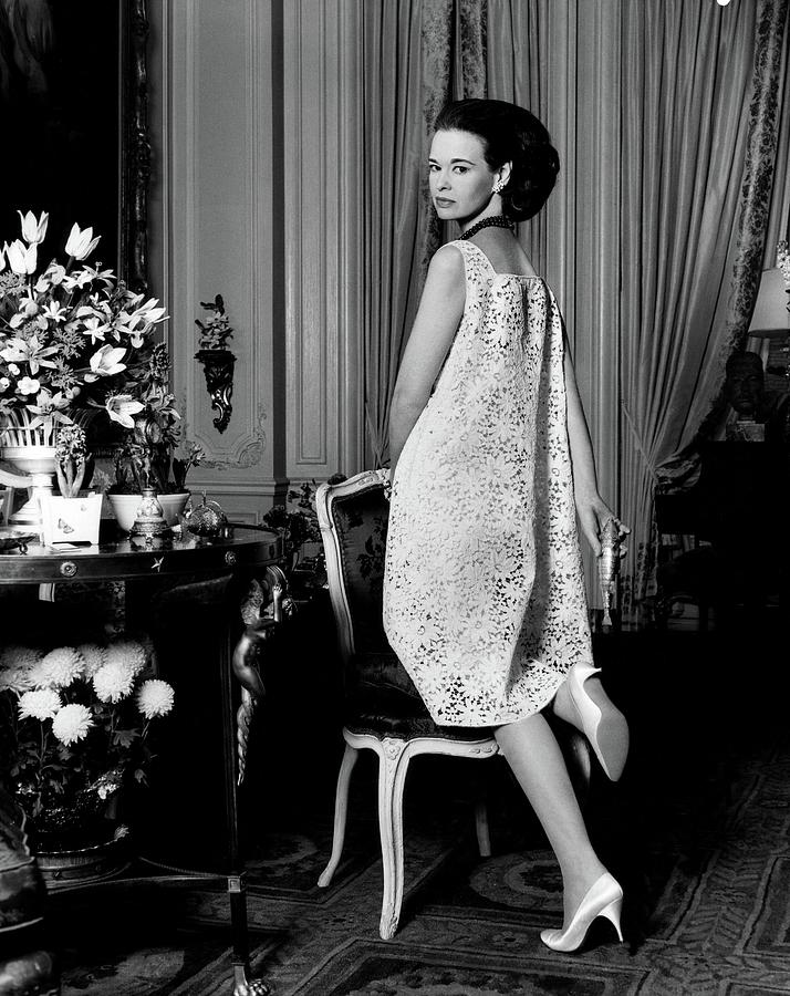 Portrait Of Gloria Vanderbilt Photograph by Horst P. Horst