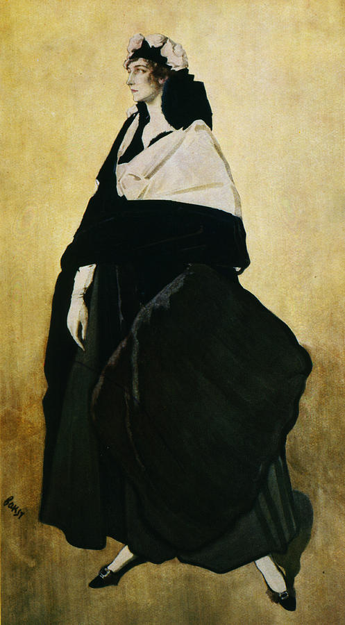 Leon Bakst Painting - Portrait Of Ida Lvovna Rubinstein by Leon Bakst