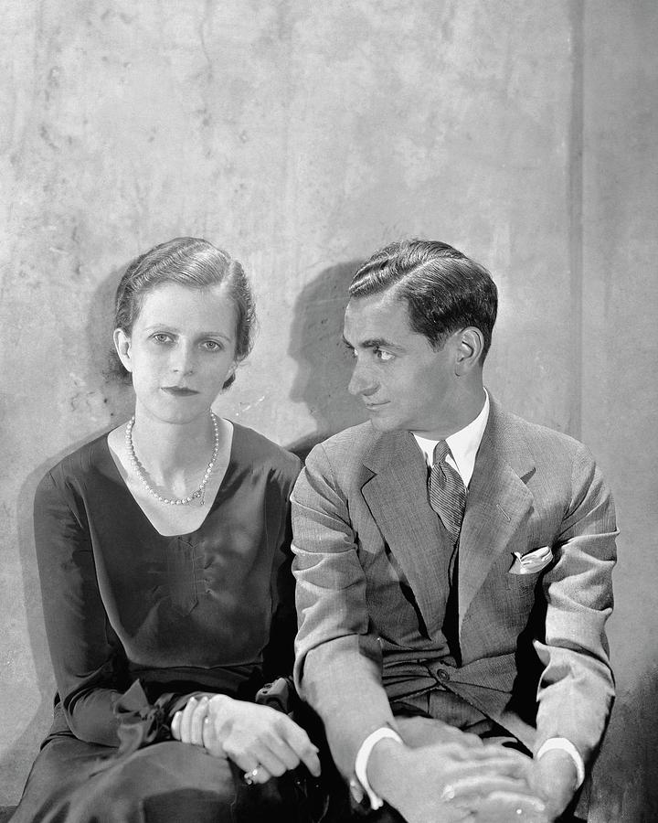 Portrait Of Irving Berlin And His Wife Photograph by Cecil Beaton