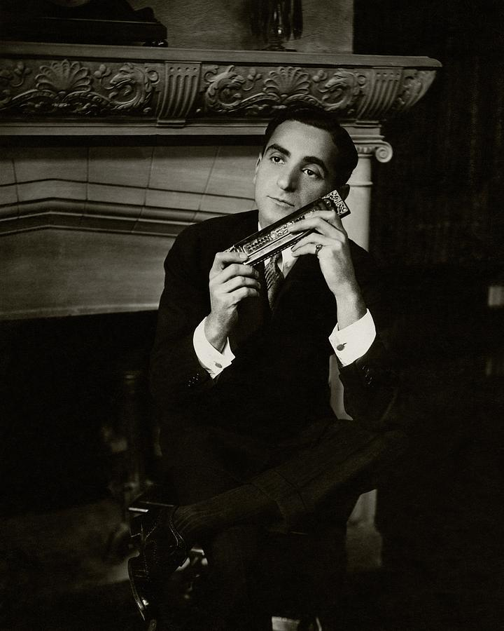 Portrait Of Irving Berlin Photograph by Florence Vandamm