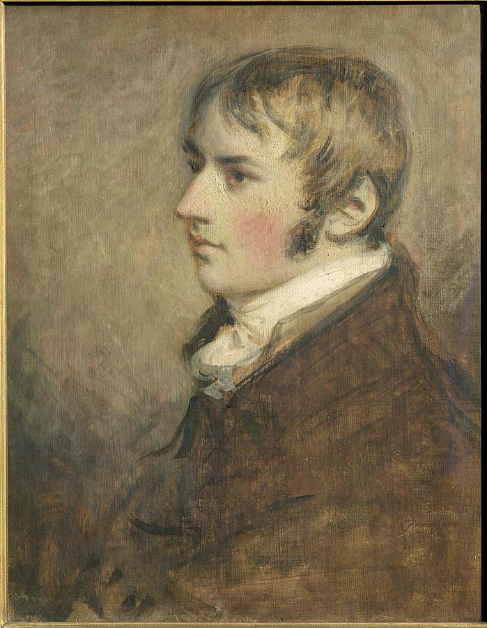 1796 Painting - Portrait Of John Constable Aged Twenty by Daniel Gardner