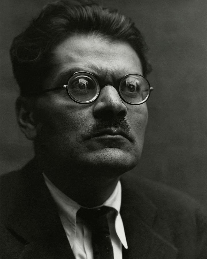 Portrait Of Jose Clemente Orozco Photograph by Edward Weston