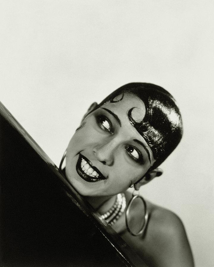 Portrait Of Josephine Baker Photograph by George Hoyningen-Huene