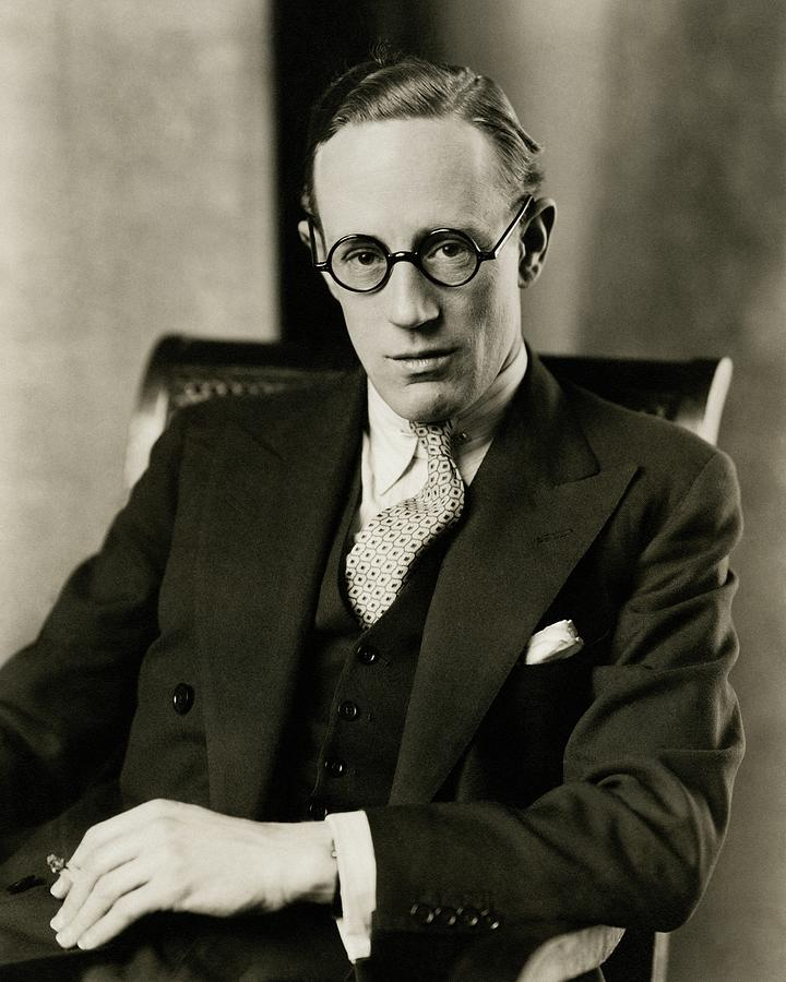 Portrait Of Leslie Howard Photograph by Edward Steichen