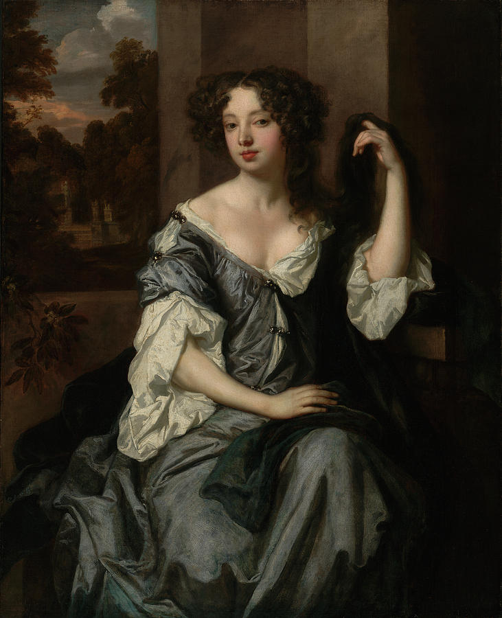 Portrait Painting - Portrait Of Louise De Keroualle, Duchess Of Portsmouth by Litz Collection