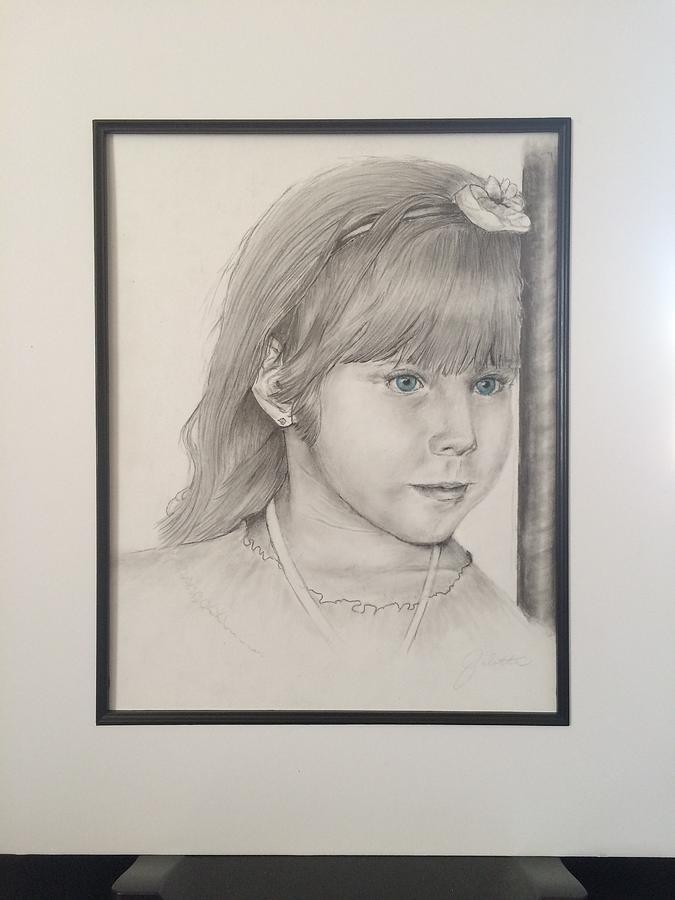 portrait of M by Barbara Gulotta