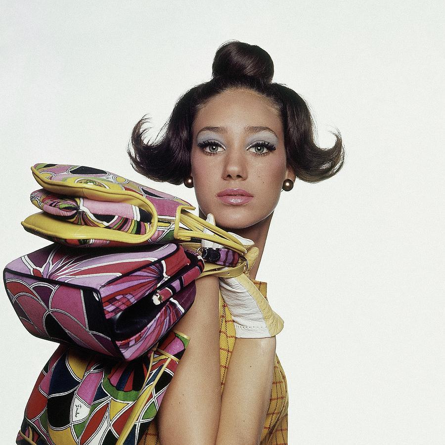 Portrait Of Marisa Berenson Photograph by Bert Stern