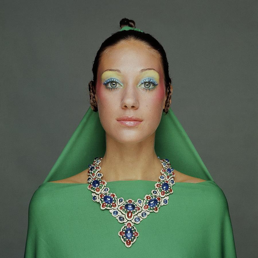 Portrait Of Marisa Berenson Photograph by Gianni Turillazzi