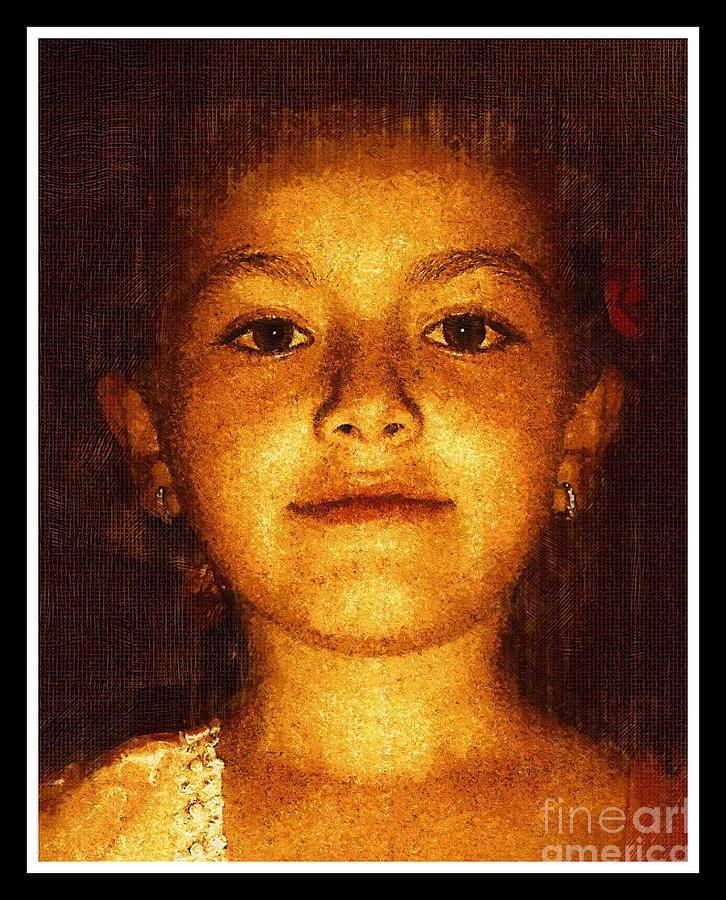 Portrait Of My Daughter Photograph by Arif-Zenun Shabani