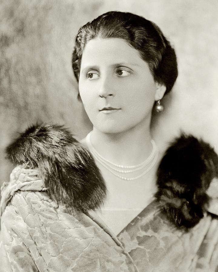 Portrait Of Nina Morgana Photograph by Nicholas Muray