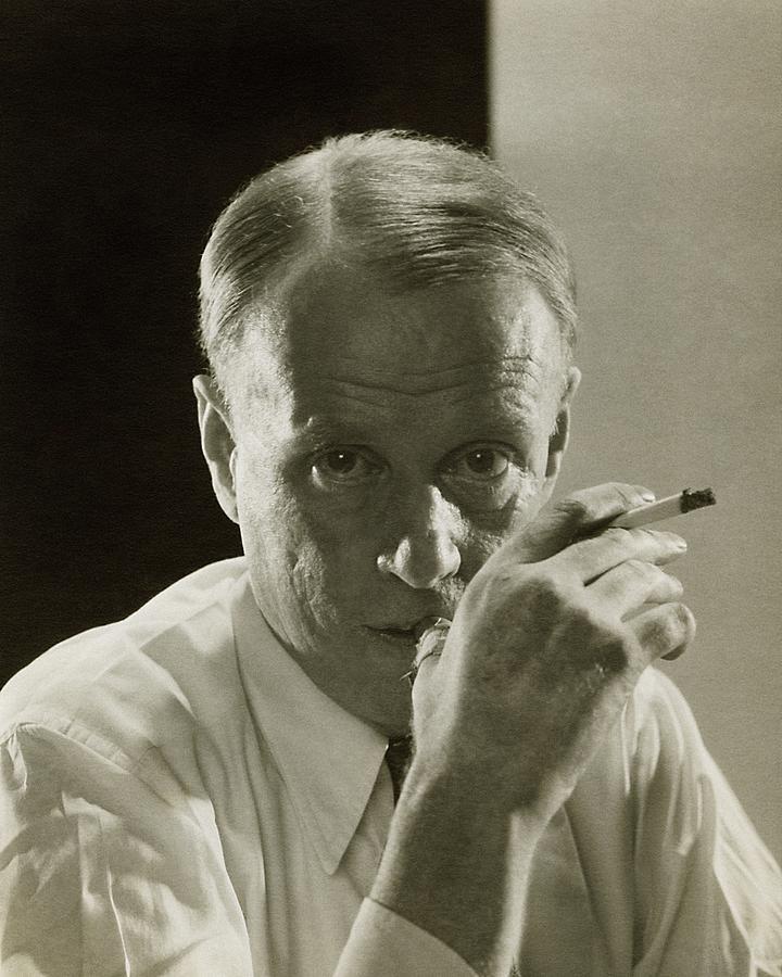 Portrait Of Novelist Sinclair Lewis Photograph by Edward Steichen