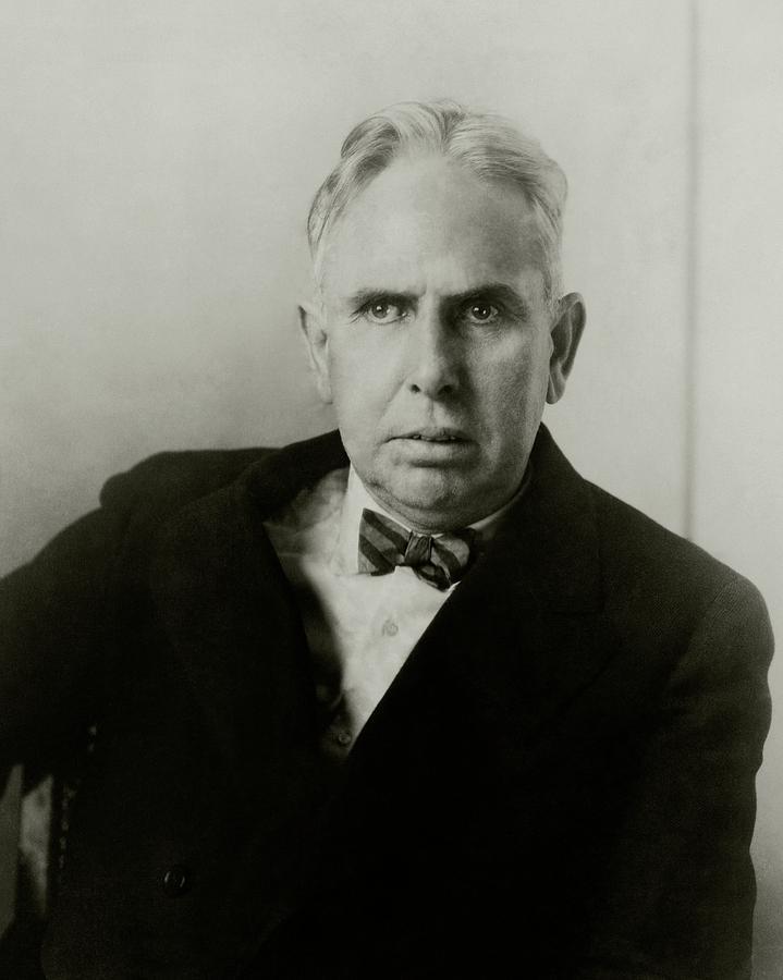 Portrait Of Novelist Theodore Dreiser Photograph by Charles Sheeler
