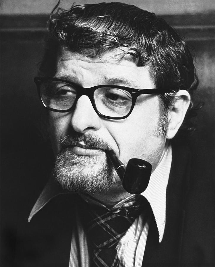 1970s Photograph - Portrait of Paddy Chayefsky by Underwood Archives