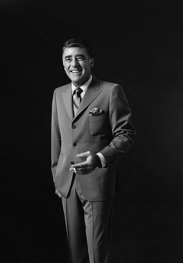 Portrait Of Peter Lawford Photograph by Leonard Nones