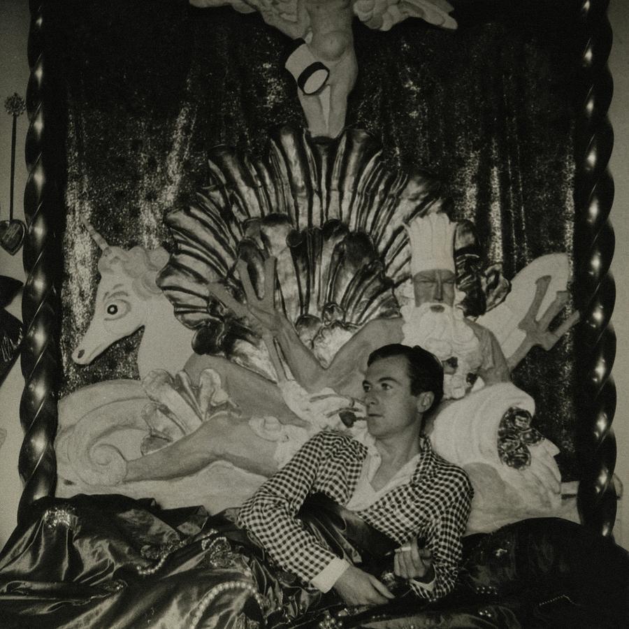Portrait Of Photographer Cecil Beaton Photograph by George Hoyningen-Huene