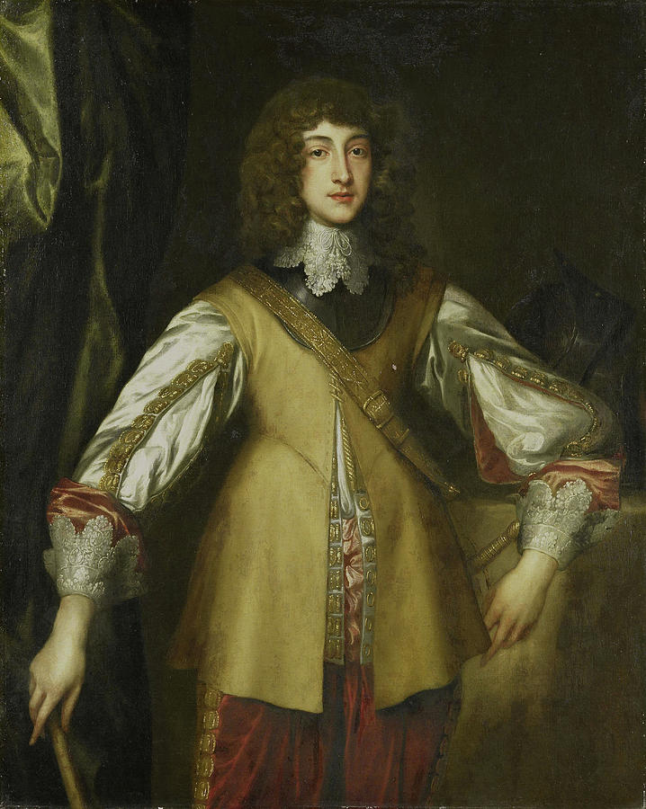 Portrait Drawing - Portrait Of Prince Rupert, Count Palatine by Litz Collection