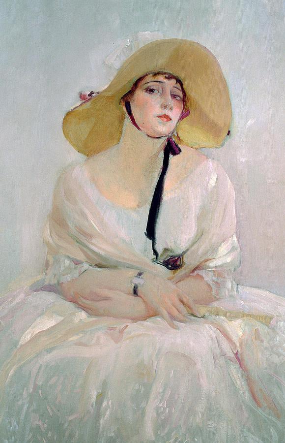 Joaquin Painting - Portrait Of Raquel Meller by Joaquin Sorolla y Bastida