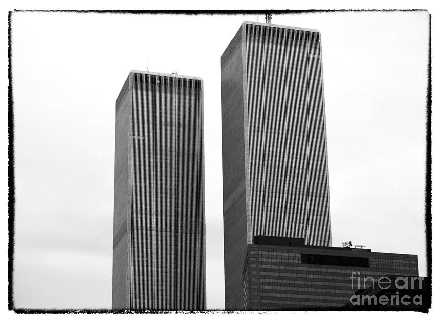Towers Photograph - Portrait Of The Towers 1990s by John Rizzuto
