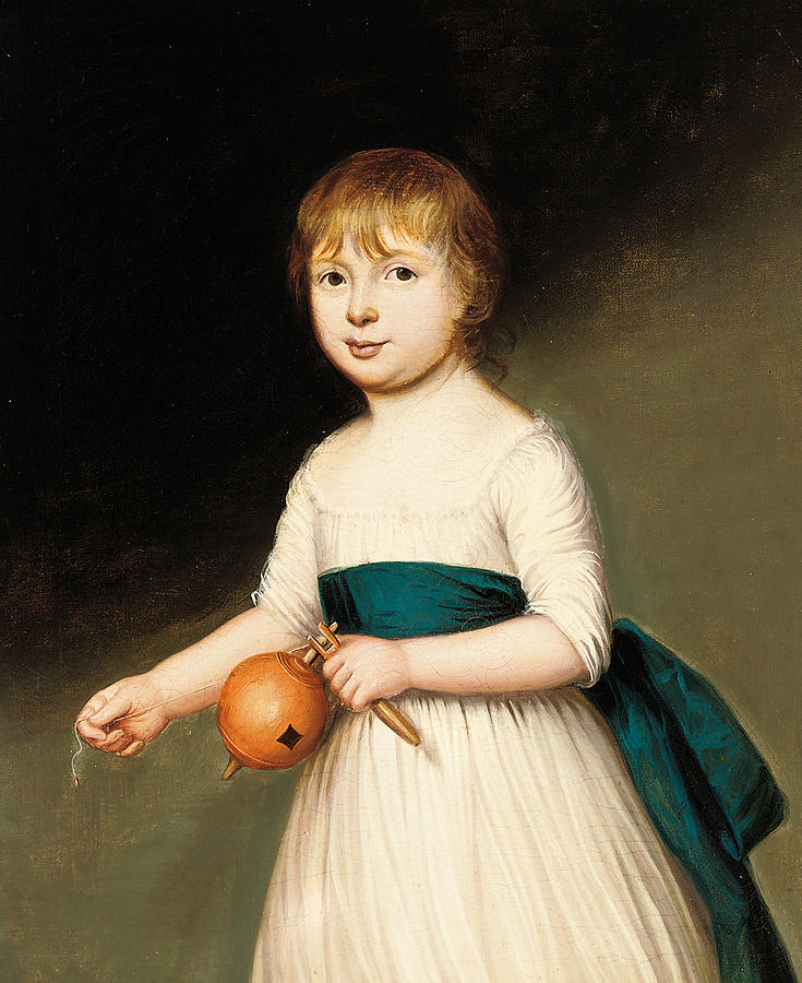 Portrait Painting - Portrait Of Thomas Allason by Francis Alleyne
