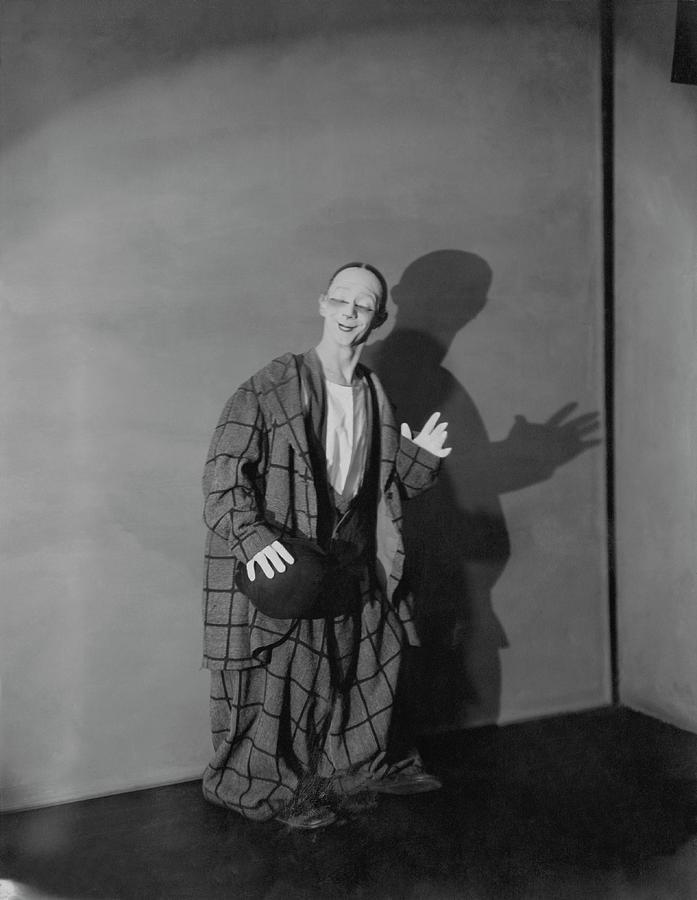 Portrait Of Toto Photograph by Edward Steichen