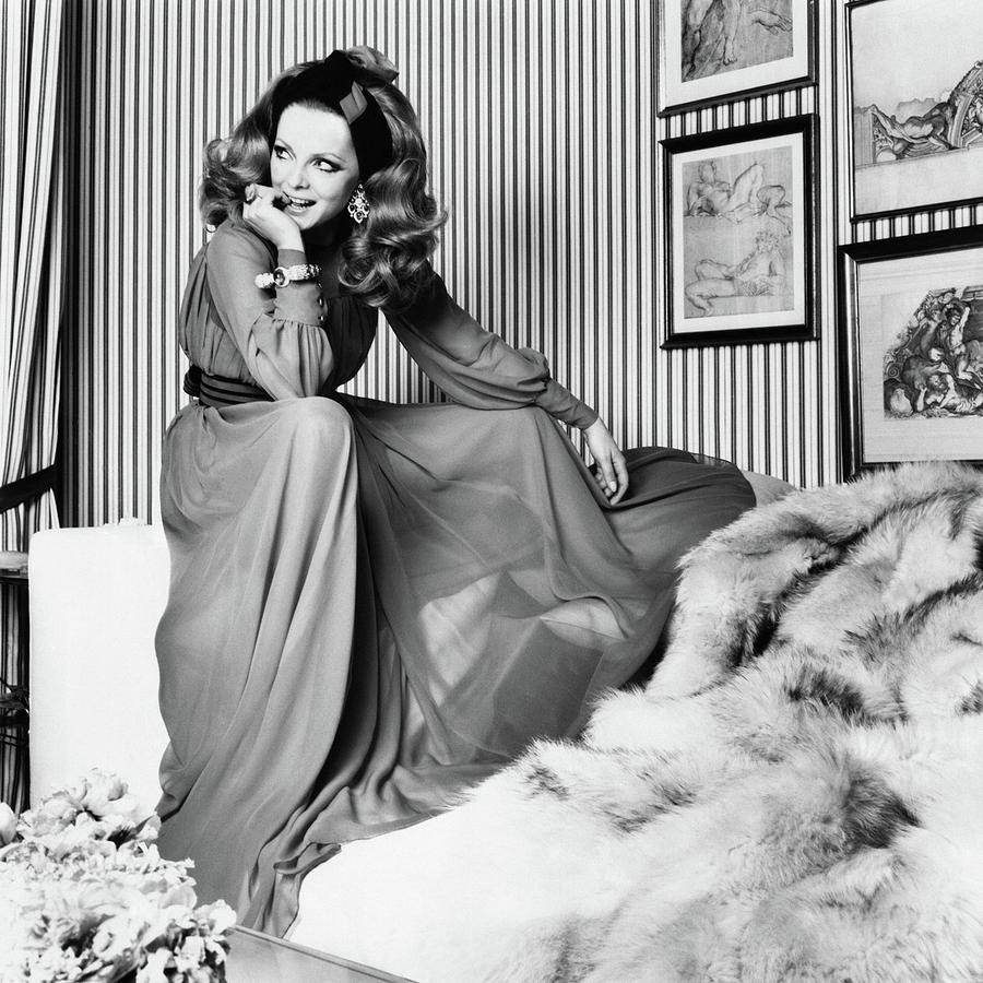 Portrait Of Virna Lisi Photograph by Henry Clarke