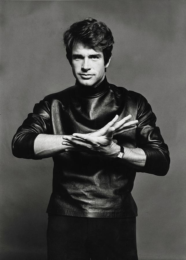 Portrait Of Warren Beatty Photograph by Jack Robinson
