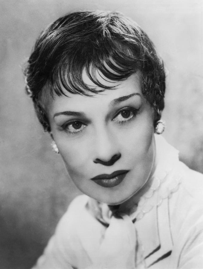 Portrait Of Writer Anita Loos Photograph By Underwood Archives