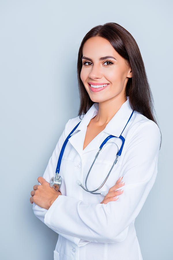 Portrait Of Young Cheerful Doctor With Stethoscope On ...Doctor Stethoscope Comment