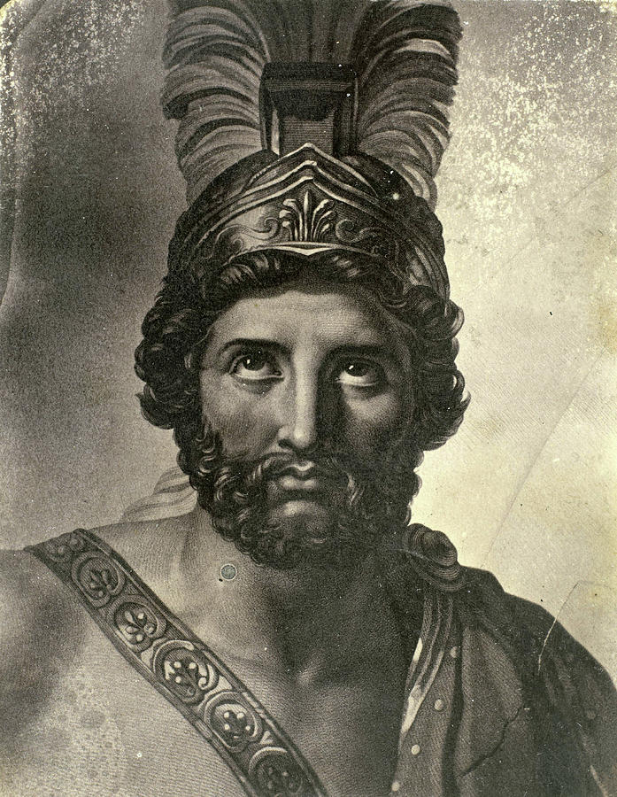 Portrait Painting Of Leonidas, King Of Sparta Painting by ...