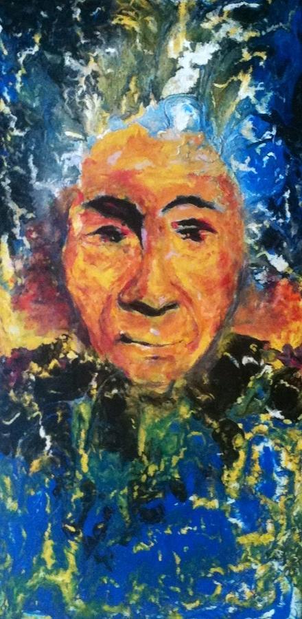 Portrait Painting - Portrait by Yueqin Lei