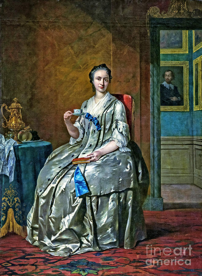Portret Van Machteld Muilman Painting