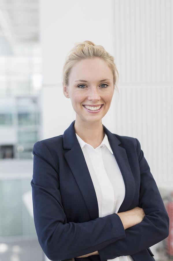 Portrit Of Business Women Photograph by Philipp Nemenz
