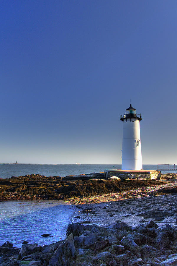 New England Photograph - Portsmouth And The Whaleback by Joann Vitali