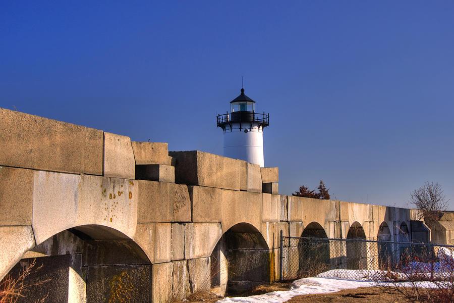 New England Photograph - Portsmouth Harbor Light 2 by Joann Vitali