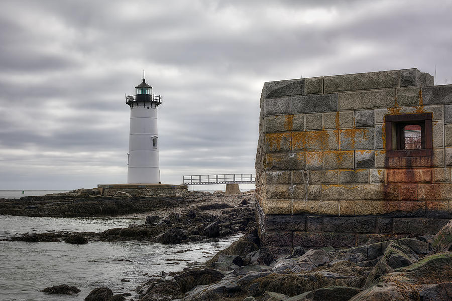 Portsmouth Harbor Light Photograph - Portsmouth Harbor Light by Eric Gendron