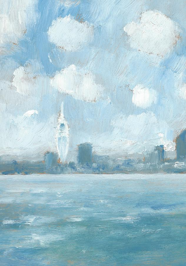 The Solent Painting - Portsmouth Part One by Alan Daysh