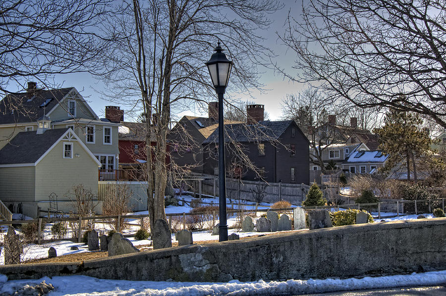 Portsmouth Photograph - Portsmouth Winter by Joann Vitali