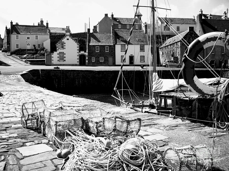 Harbour Photograph - Portsoy Harbour 1 by Malcolm Suttle