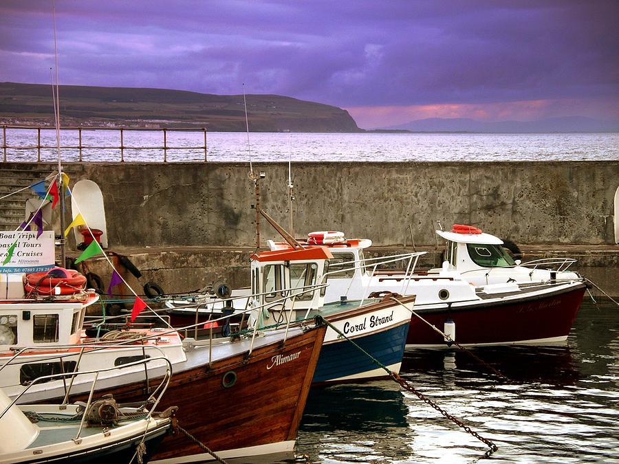Portstewart Harbour by Nigel Cameron