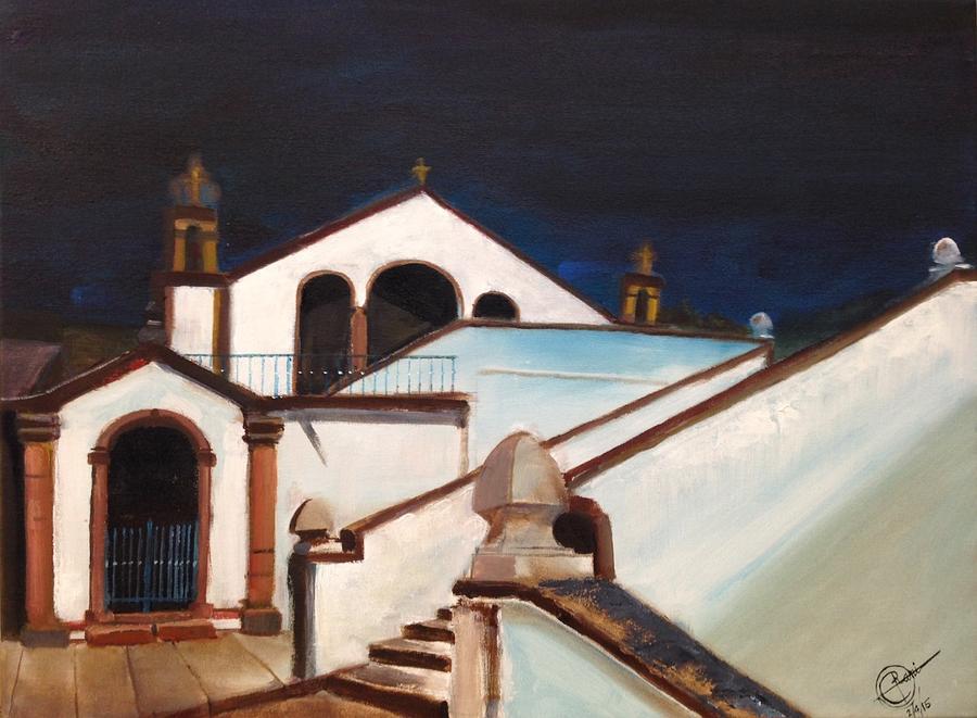 Portugal Painting - Capela de Nossa Senhora dos Covoes by Rami Besancon
