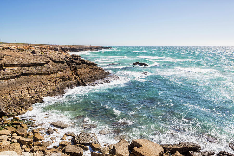Portugal, View Of Atlantic Ocean Photograph by Westend61