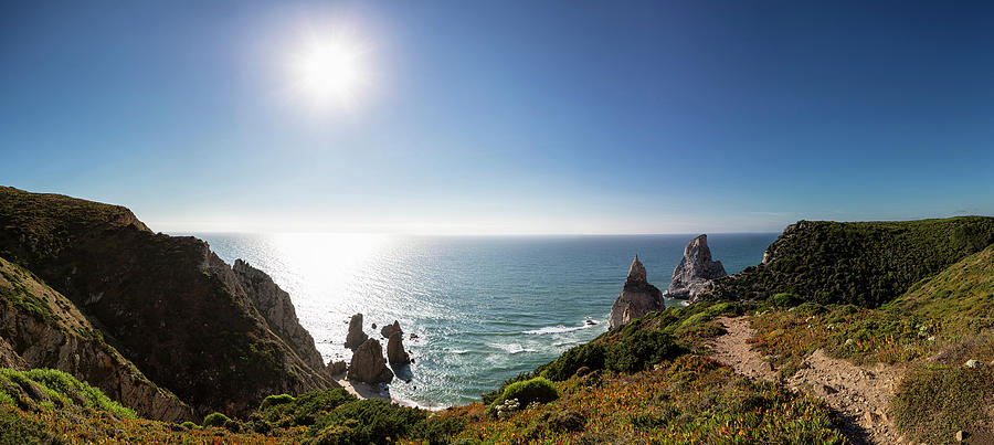 Portugal, View Of Praia Da Ursa Photograph by Westend61