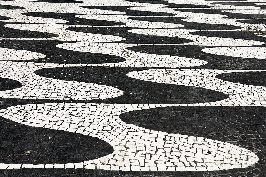 Portugal Photograph - Portuguese Pavement by Gaspar Avila