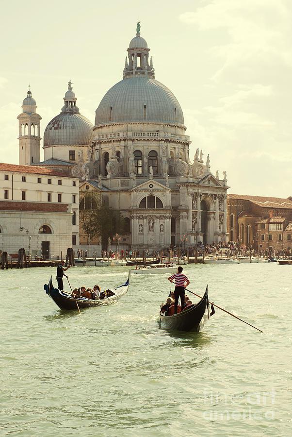 Italy Photograph - Postcard From Venice by Jaroslaw Blaminsky