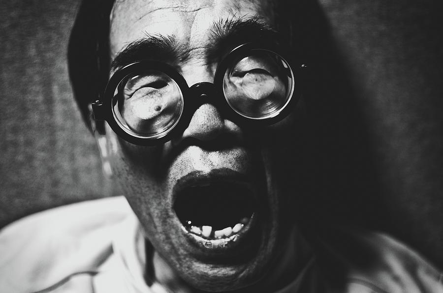 Glasses Photograph - Poses by Koji Sugimoto