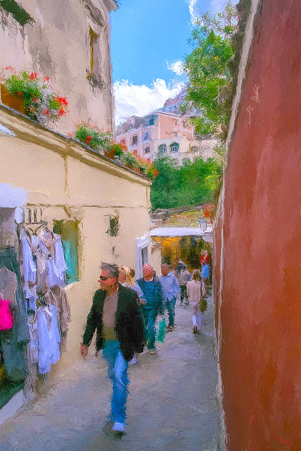 Amalfi Coast Photograph - Positano by SM Shahrokni