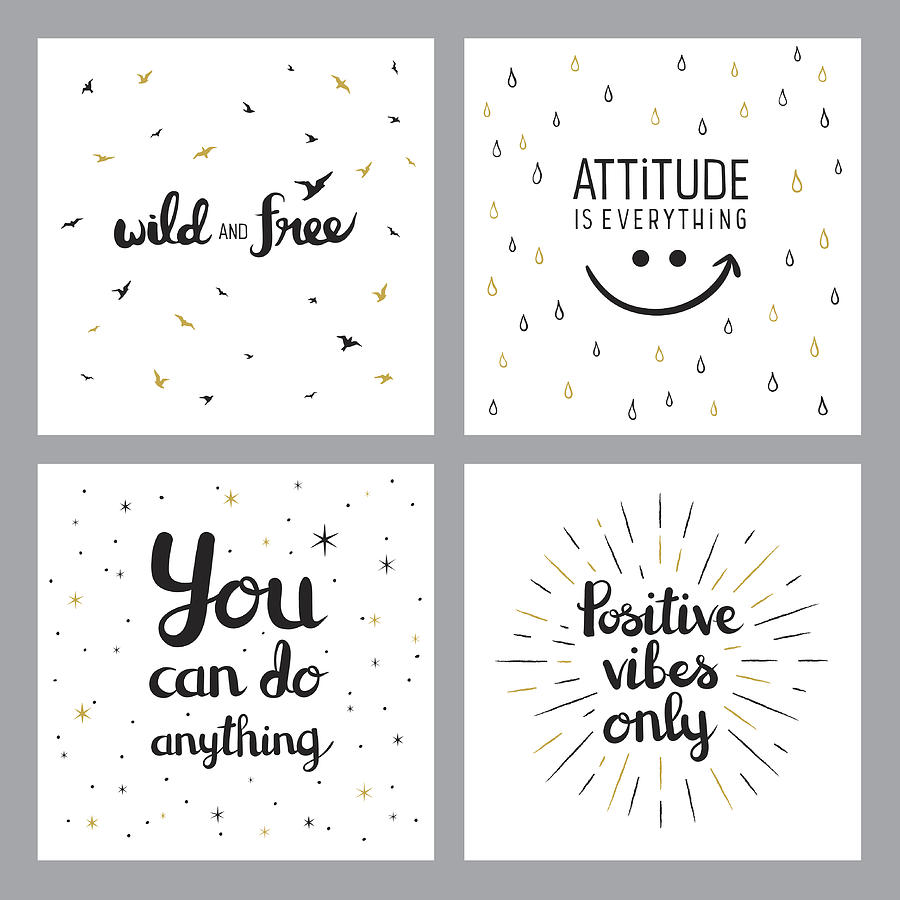 Positive Inspirational Quotes by Miakievy